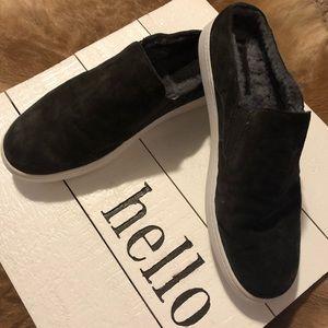 VINCE, Style: Verrell Suede Slip-on sneaker
